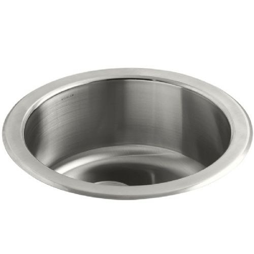 Kohler Icerock Stainless Steel Under-Mount Kitchen Bowl - 3341W